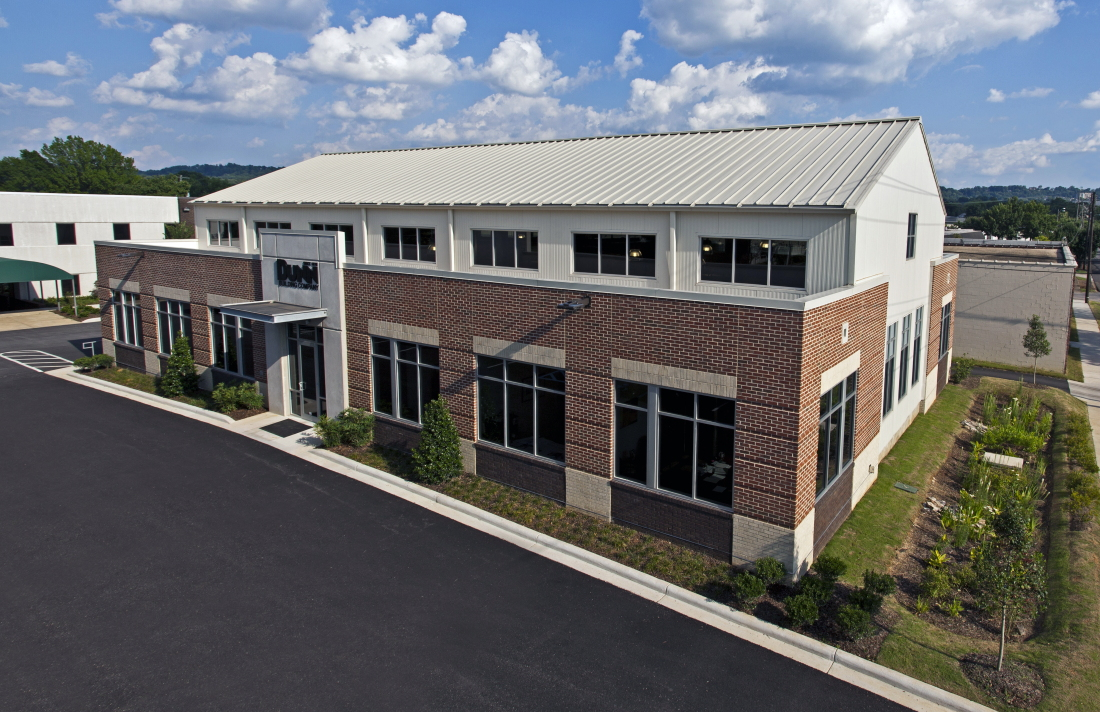 Dunn Building Company New Office