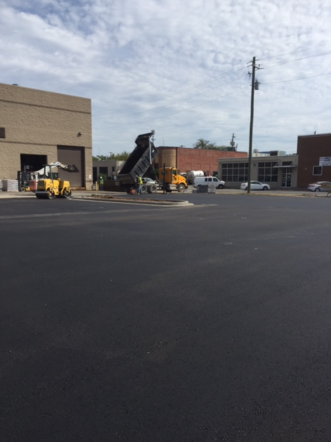 Unifirst Fencing Amp Paving Improvements Dunn Building Company