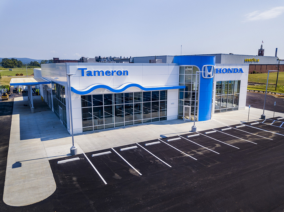 New dealership for tameron honda gadsden dunn building for Tameron honda gadsden al