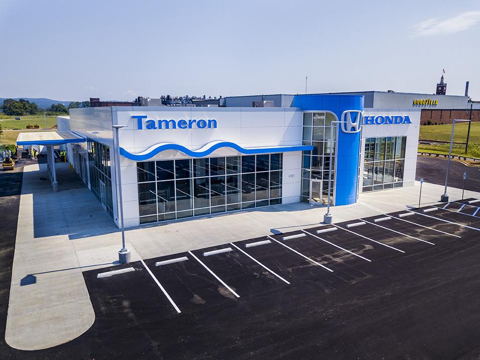 New dealership for tameron honda gadsden dunn building for Honda dealerships in alabama