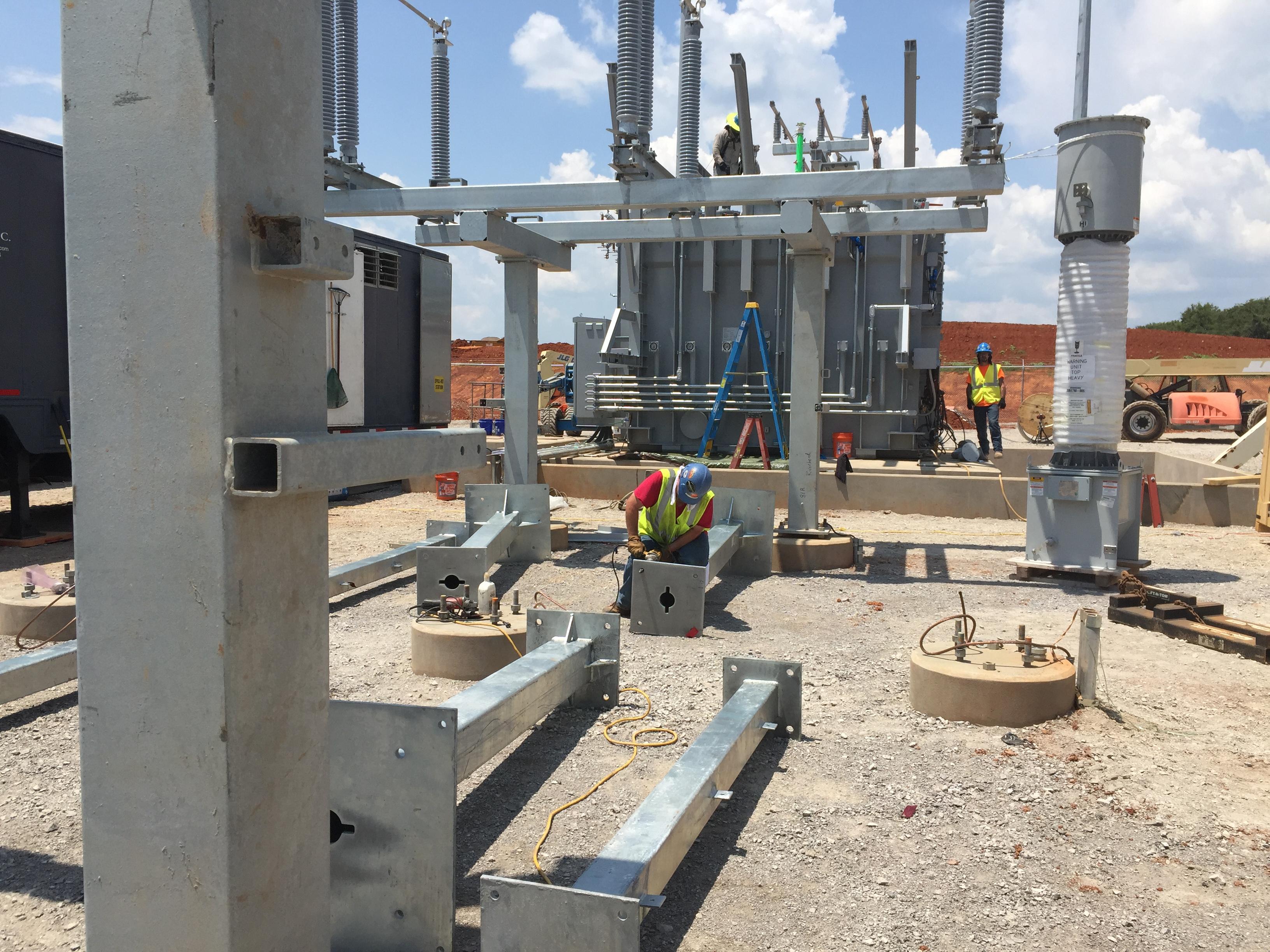 Riverbend Solar Station Dunn Building Company