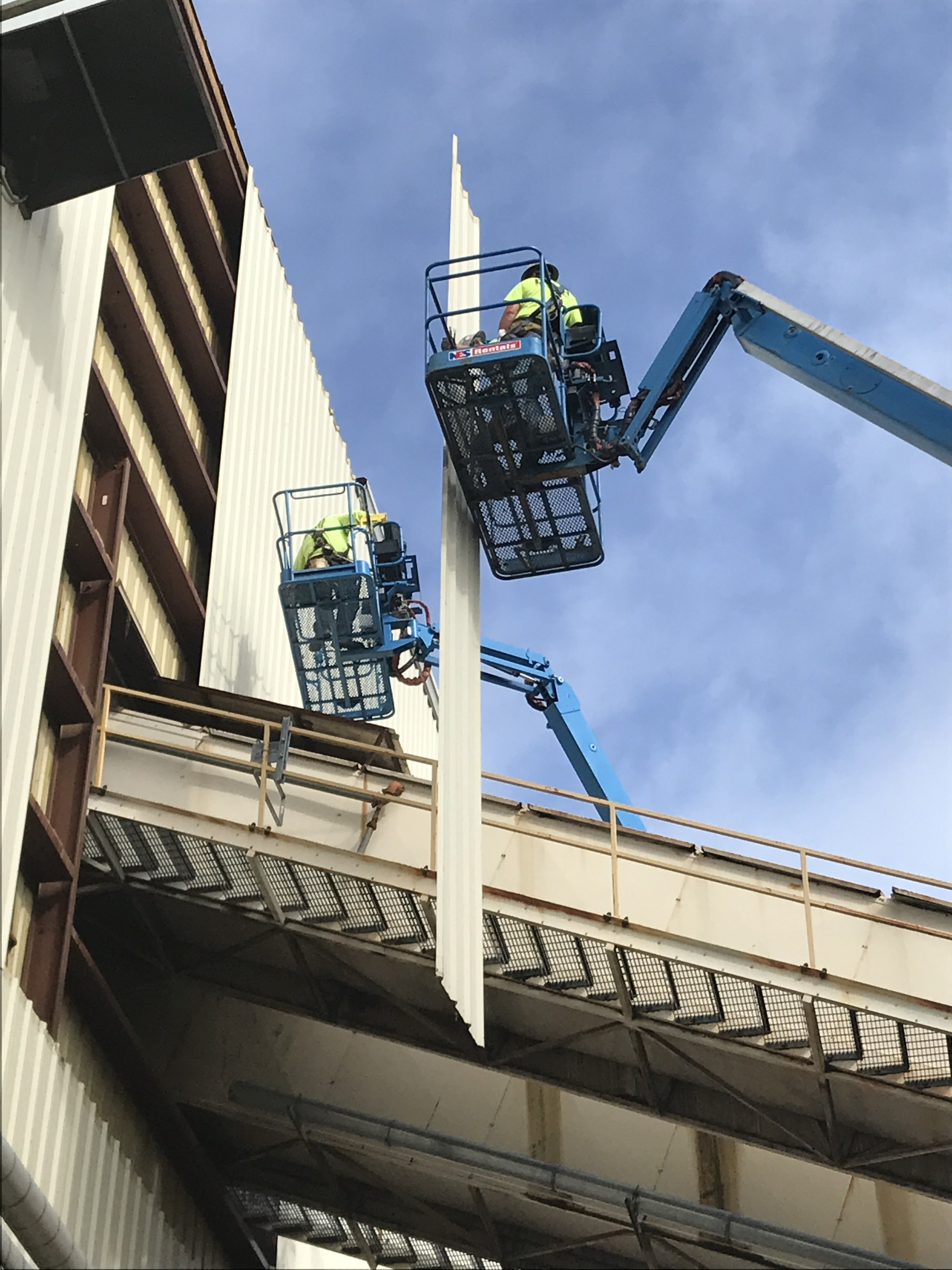 Norbord Wall And Roof Demo For Conveyor Exchange Dunn